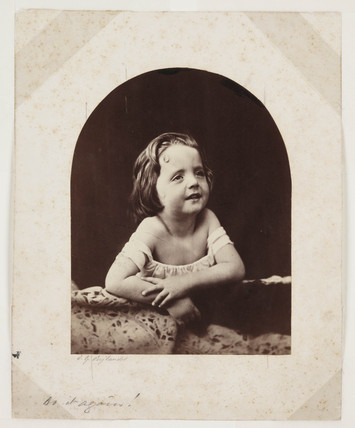 'Do It Again!' (Child's Head), c 1857.