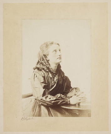 Prayer', c 1860s.