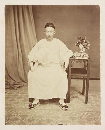 Chinese merchant, late 19th century.