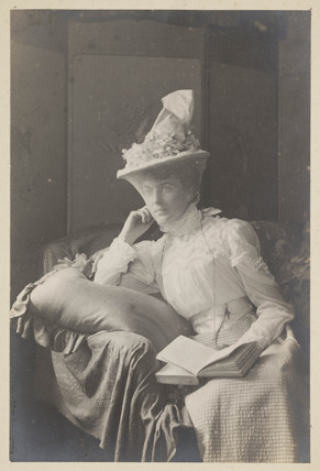 Portrait of Miss Moore?, c 1900.