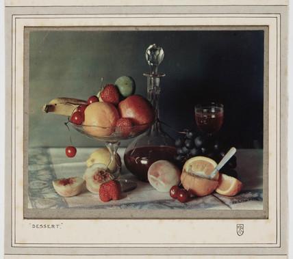 'Dessert', c 1923.