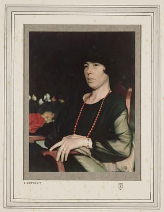 'A Portrait', c 1923.