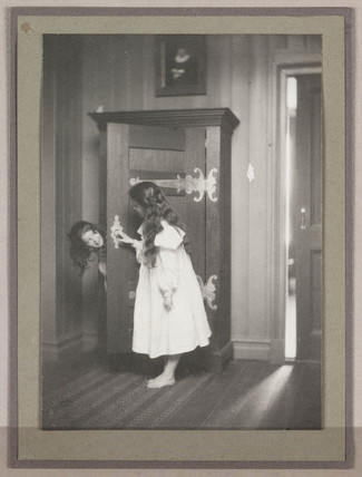'Hide and Seek', about 1900