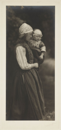 'A Dutch Girl' (In Norwegian Style), 1901.