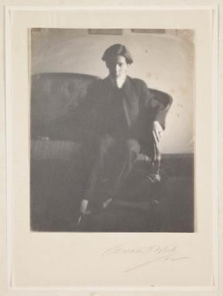 Alvin Langdon Coburn, portrait', 1902.