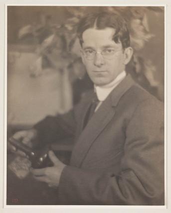 Portrait of Alvin Langdon Coburn', 1912.