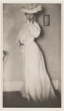Lady in White', c 1910.
