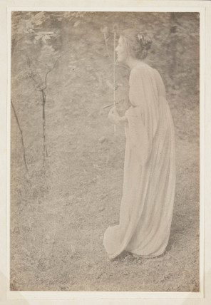 Figure in White', c 1910.