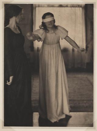 Blind man's Buff (sic)', c 1910.