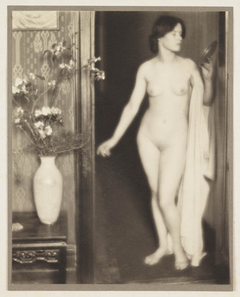 'Nude' (Mrs Thompson), c 1907.