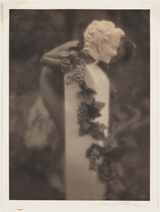 Pan and Girl', c 1910.