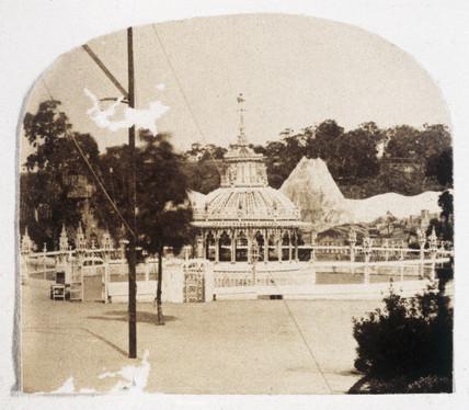 Cremore Gardens, Richmond, Melbourne c.1858.
