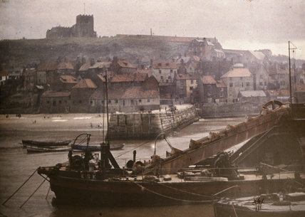Whitby, the dredger.