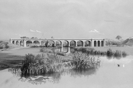 Avon Viaduct,  July 26th, 1837.