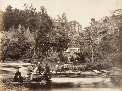Garden at Omia, c.1877.