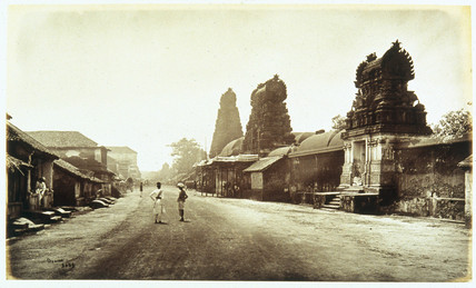 Street view of Tanjou, c 1864.