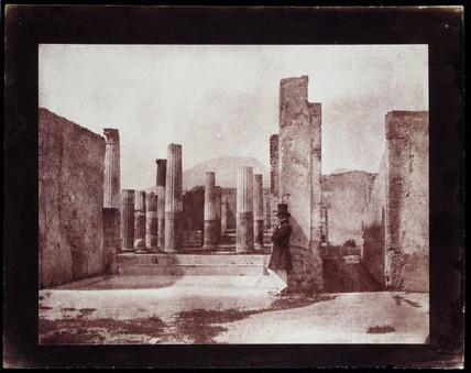 The House of Sallust, Pompeii, c.1850.