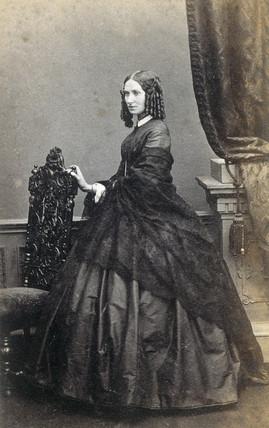'Cousin Fanny', his wife, Nee Peel.'