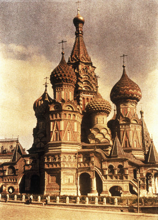 St. Basil's Cathedral, Moscow, c.1920-1930.