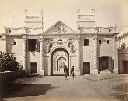 The Mermaid Gate, Kaiser Bagh, Lucknow, India, 1863-1870.