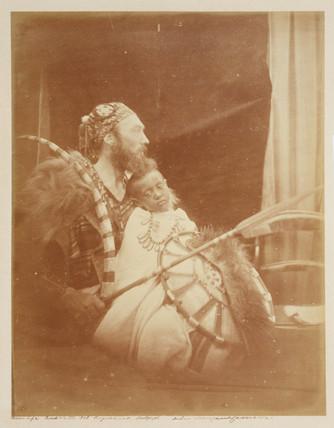 'Dejatch Alamayou and Basha Felika..., 1868.