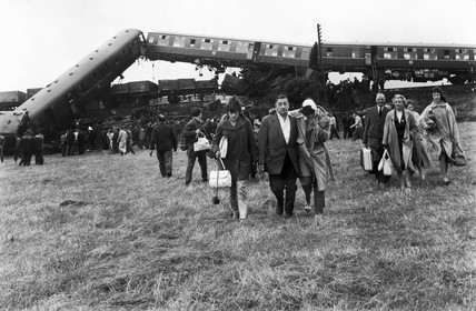 Wheeton rail crash, July 1961.