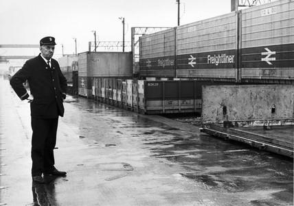 George Bradley, Longsight Freightliner Depot, Manchester, 1967.