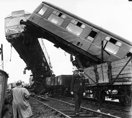Wheeton rail crash, July 1961.