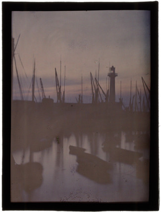 'Sunset and Fishing Boats', c 1909.