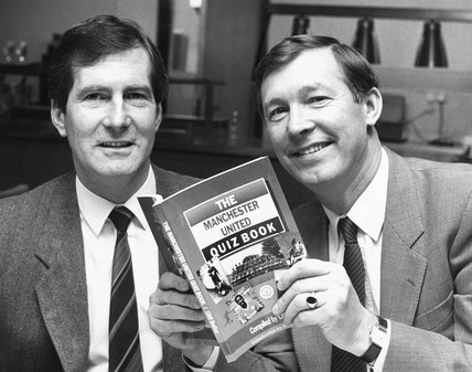 Martin Edwards and Alex Ferguson, 1987.