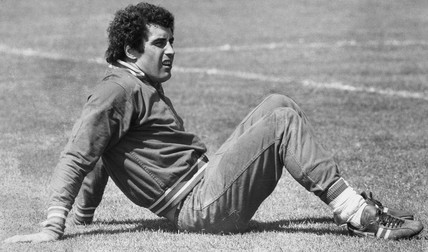 Peter Shilton, British footballer, May 1977.