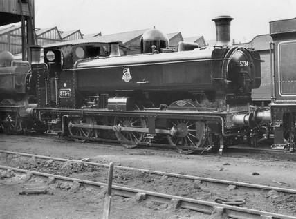 Great Western Railway 0-6-0T no.5734. 1929.