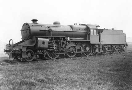 Locomotive 2-6-0, No. 13000.