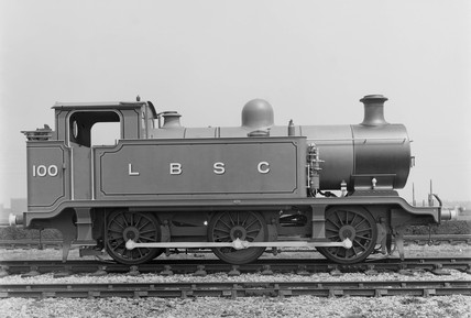 Class E2 0-6-0T no.100, June 1913.