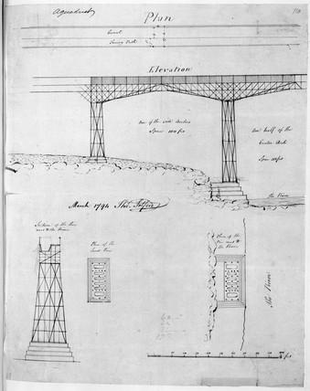 Iron trough aqueduct, 1794.