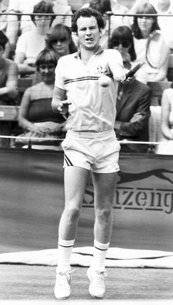 John McEnroe, American tennis player, June 1982.