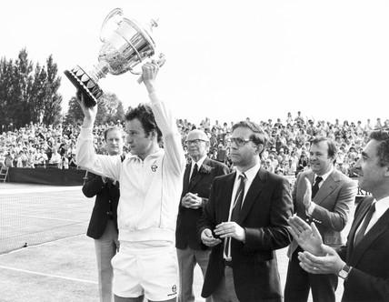 John McEnroe, American tennis player, 1982.