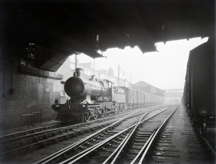 Milk Train 1pm departure from Paddington, 9th February 1928.
