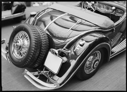 Mercedes-Benz 500k special sports roadster, Paris, 1934.