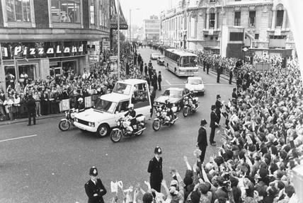 Visit of Pope John Paul II, London, May 1982.