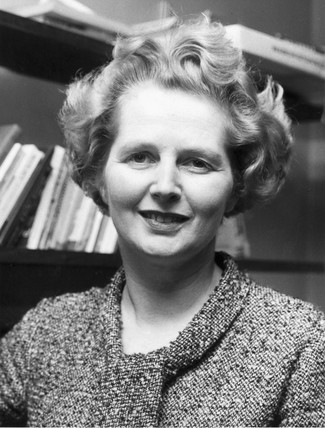 Margaret Thatcher, MP for Finchley, February 1967.