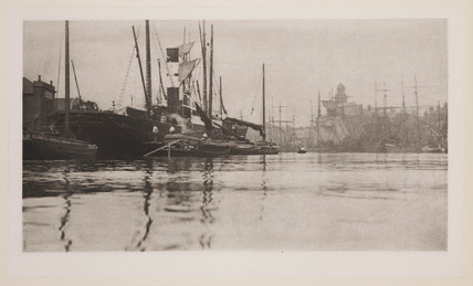 Yarmouth harbour, 1890.