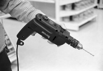 Black & Decker drill, 1988.
