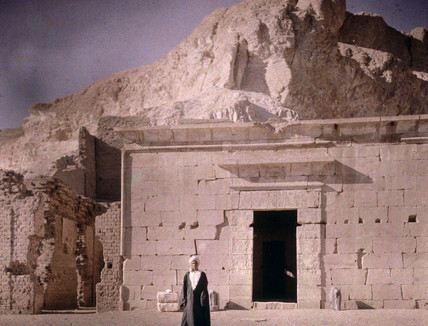 The Temple of Dor el-Medine, 1913.