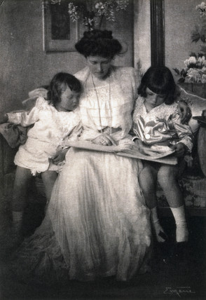 Princess Rupprecht and her children, 1910.