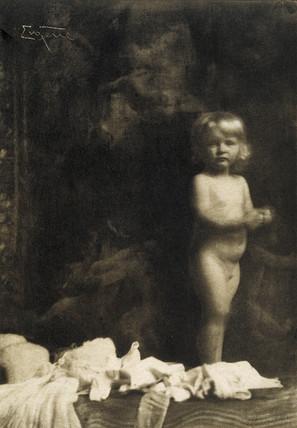 Nude- A child, 1910.