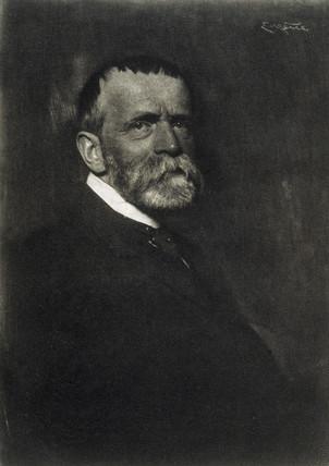 Fritz von Uhde, 1910.
