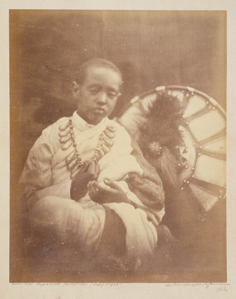 'Dejatch Alamayou King Theodore's Son', 1868.