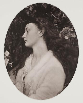 'Alethea' (Alice Liddell), 1872.
