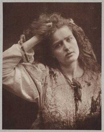 'Ophelia', c 1870.